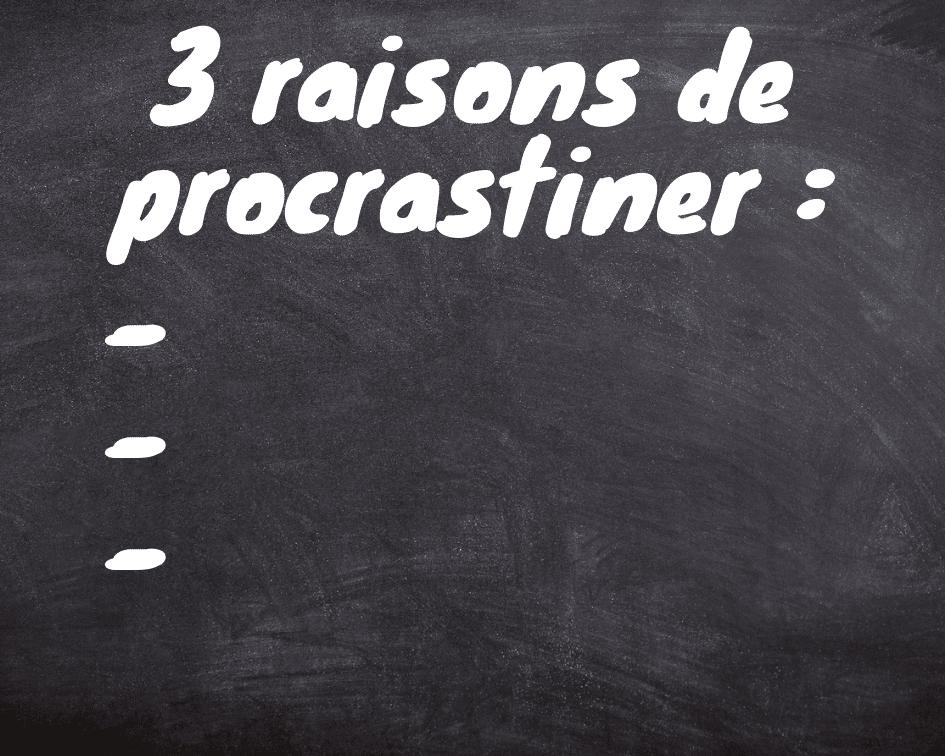 3-raisons-procrastination-étudiante